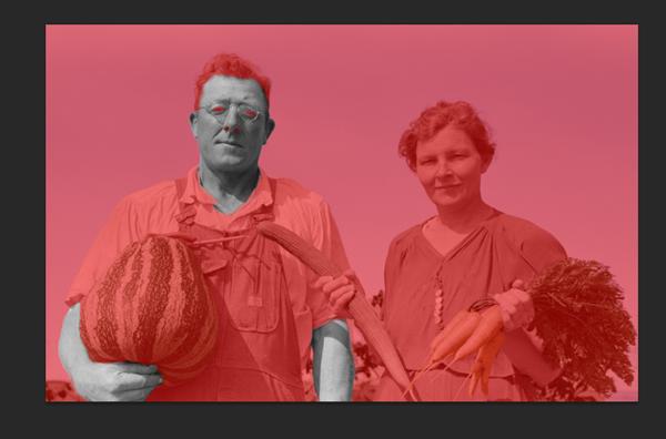 تبدیل عکس قدیمی به رنگی در فتوشاپ