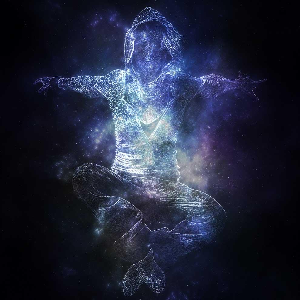 اکشن فتوشاپ Galaxy