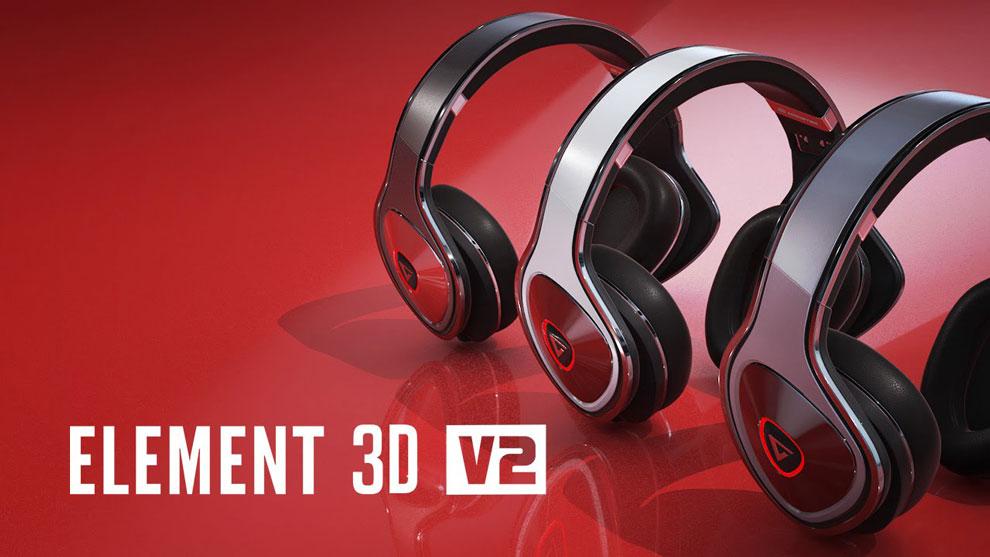 پلاگین افترافکت Element 3D