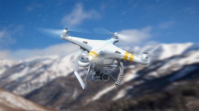 پروژه افترافکت Quadcopter Phantom
