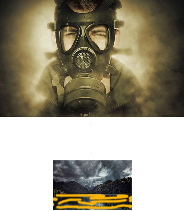 اکشن فتوشاپ Animated Smoke