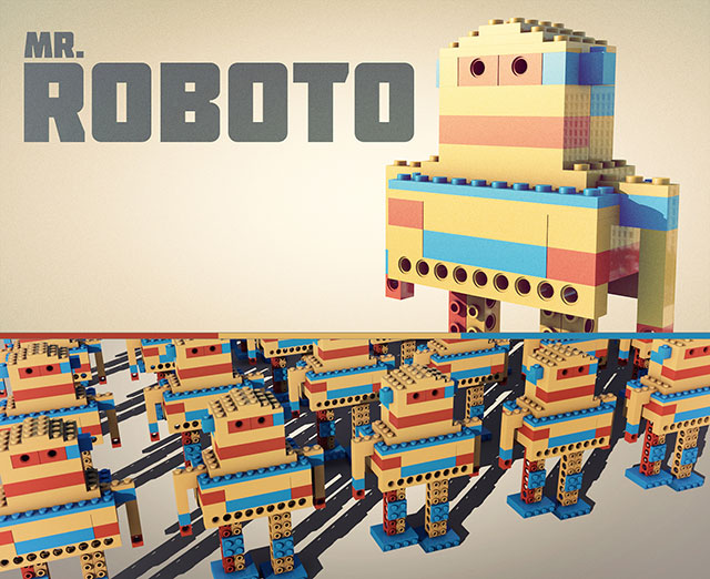 مجموعه مدل 3 بعدی Robots