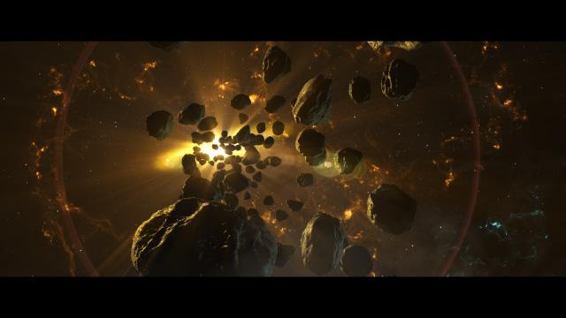 روش ساخت صحنهای از فضا با پلاگین Element 3D در افترافکت