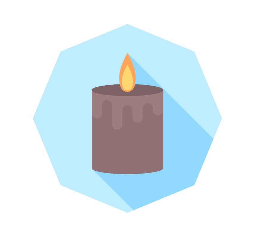 آیکون شمع