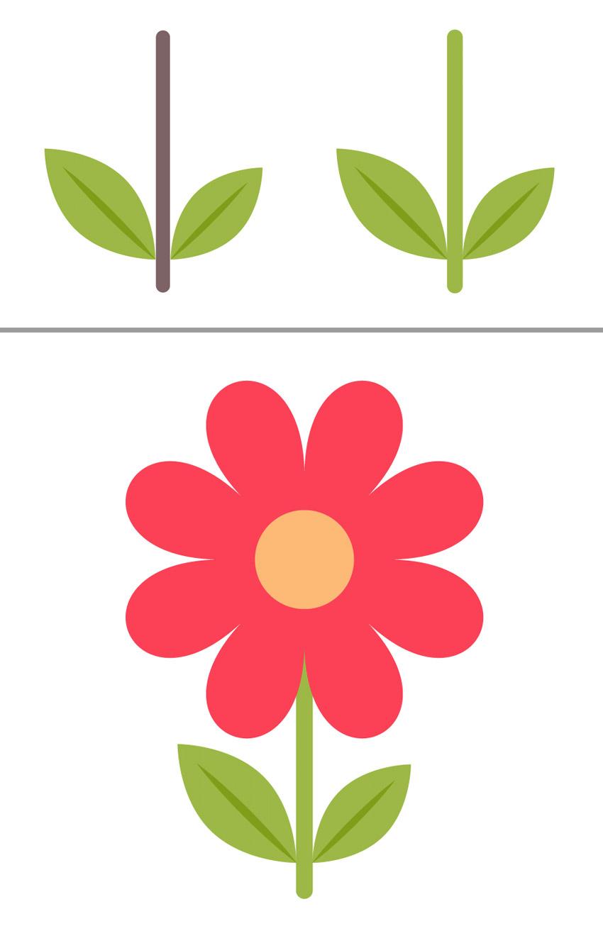 آیکون گل