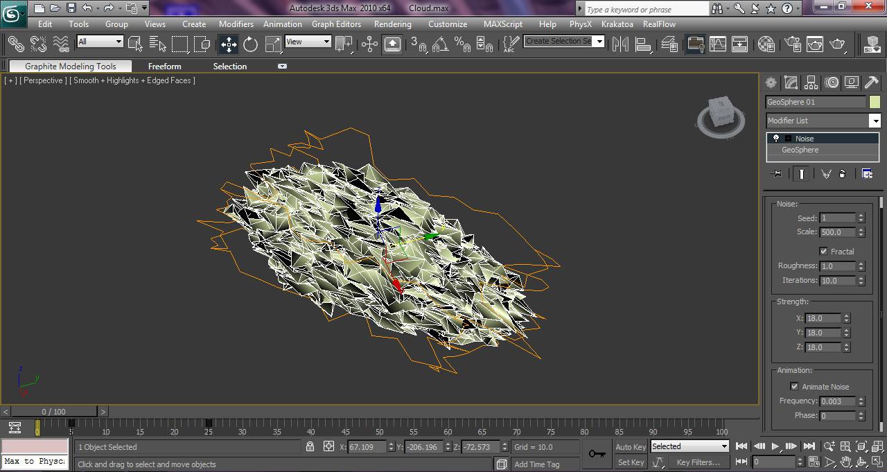 ساخت ابرهای واقعگرایانه در 3ds max و FumeFX