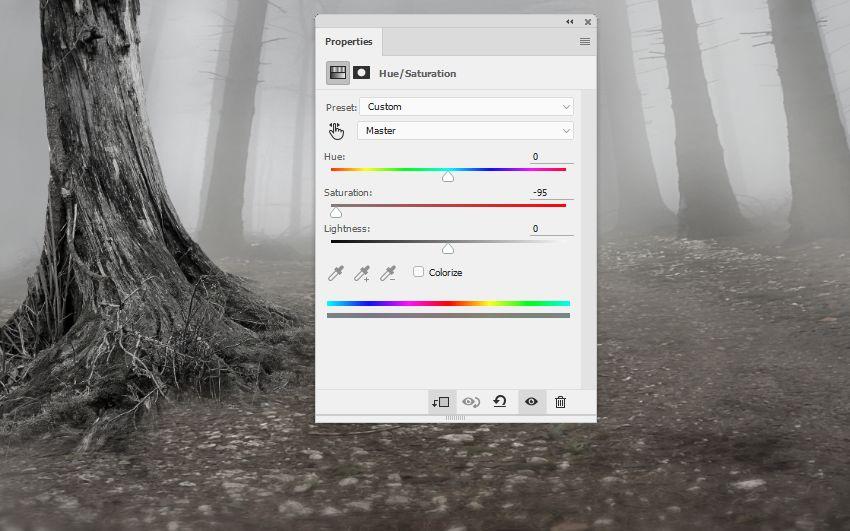 ایجاد یک صحنه جنگلی اسرارآمیز با ادوبی فتوشاپ
