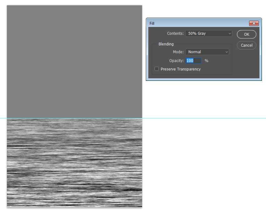 روش ساده ایجاد یک بازتاب موجدار در ادوبی فتوشاپ