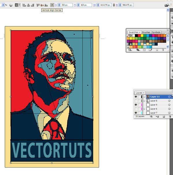 ساخت یک پوستر وکتور تاثیر برانگیز سیاسی