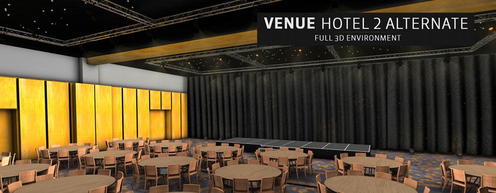 مجموعه مدل های سه بعدی سینمافوردی برای نمایشگاهها و رویدادها - محل مبله شده برگزاری مراسم و مجالس در هتل 1