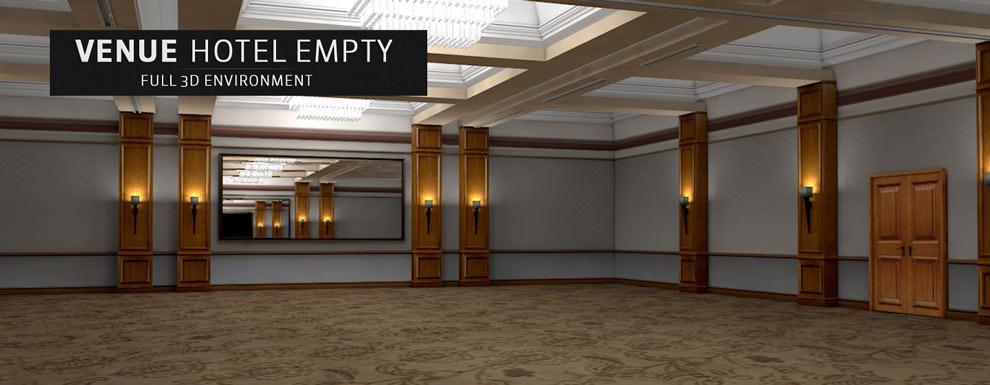 مجموعه مدل های سه بعدی سینمافوردی برای نمایشگاهها و رویدادها - محل برگزاری مراسم و مجالس در هتل