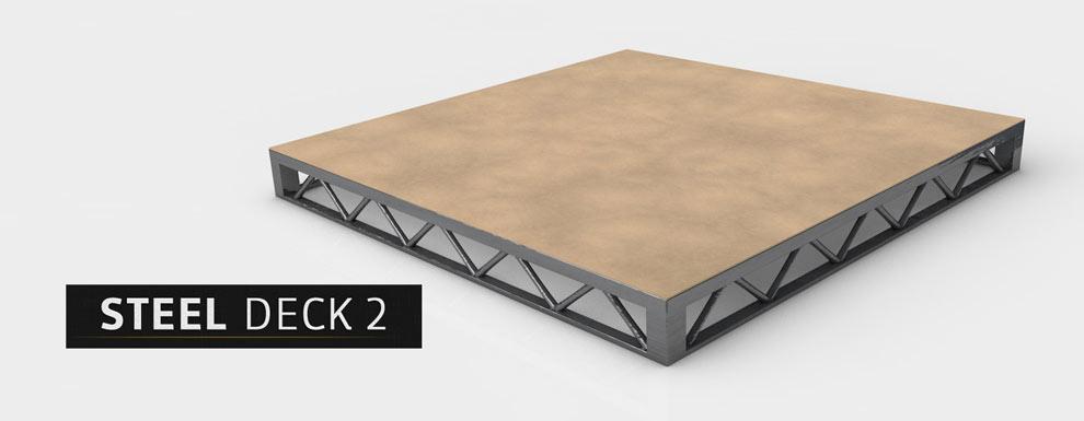 مجموعه مدل های سه بعدی سینمافوردی برای نمایشگاهها و رویدادها - سقف فولادی 2