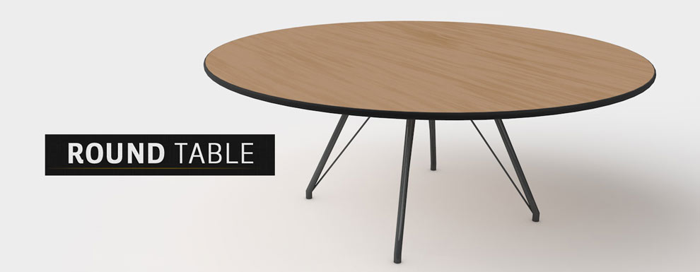 مجموعه مدل های سه بعدی سینمافوردی برای نمایشگاهها و رویدادها - میز گرد