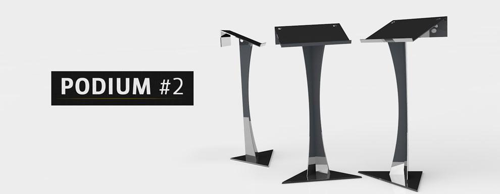 مجموعه مدل های سه بعدی سینمافوردی برای نمایشگاهها و رویدادها - سکوی سخنرانی 2