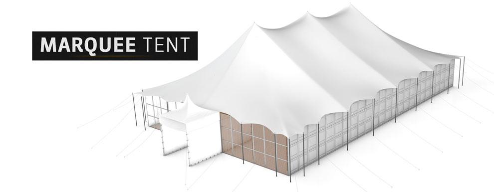 مجموعه مدل های سه بعدی سینمافوردی برای نمایشگاهها و رویدادها - چادر خیمه