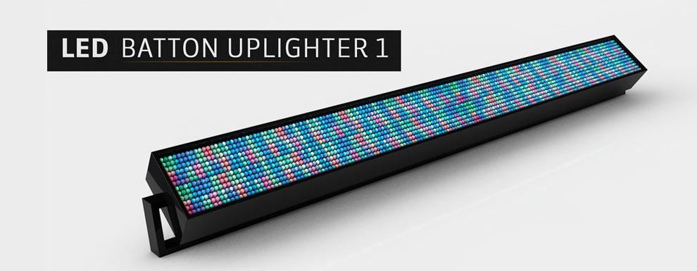 مجموعه مدل های سه بعدی سینمافوردی برای نمایشگاهها و رویدادها - نور LED Uplighter 1