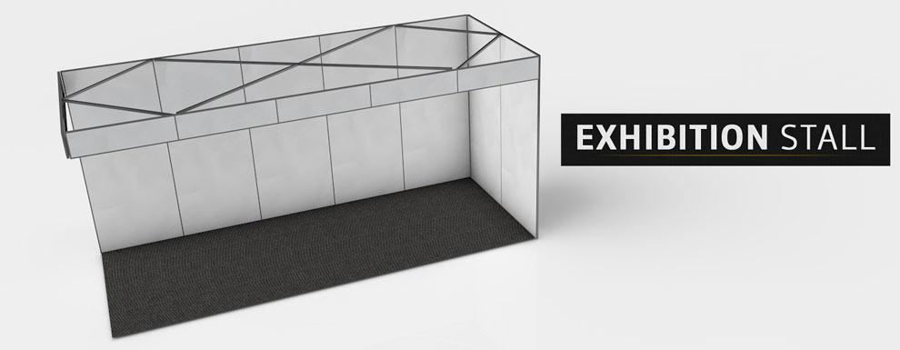 مجموعه مدل های سه بعدی سینمافوردی برای نمایشگاهها و رویدادها - غرفه نمایشگاه