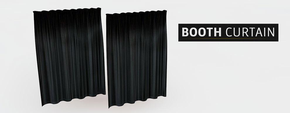 مجموعه مدل های سه بعدی سینمافوردی برای نمایشگاهها و رویدادها - پرده جایگاه ویژه