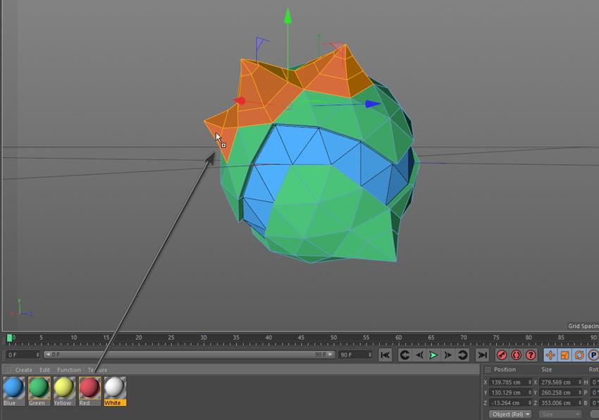 روش ایجاد یک مینی سیاره سه بعدی به سبک Low Poly در Cinema 4D