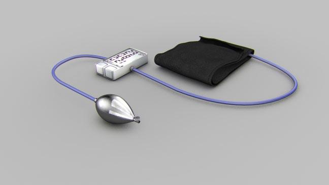 مجموعه مدل های سه بعدی پزشکی - کاف فشار خون