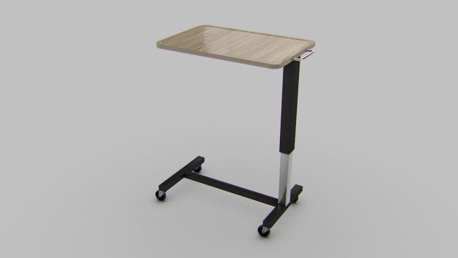 مجموعه مدل های سه بعدی پزشکی - میز روی تخت