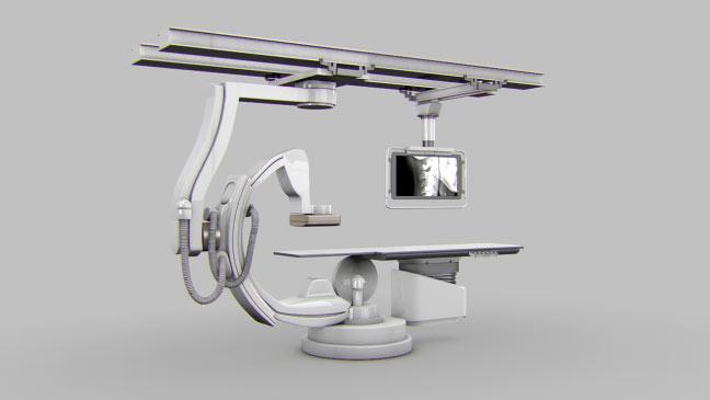 مجموعه مدل های سه بعدی پزشکی - دستگاه اسکن MRI