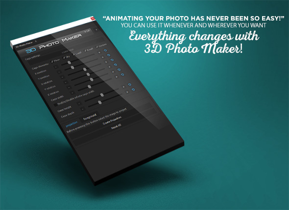 اسکریپت افترافکت ساخت عکس سه بعدی