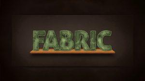 روش ایجاد افکت نوشته فابریک پارچه با طرح کامو در ادوبی فتوشاپ