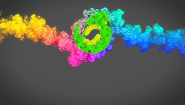 پروژه افترافکت مجموعه نمایش لوگو Beauty Particles