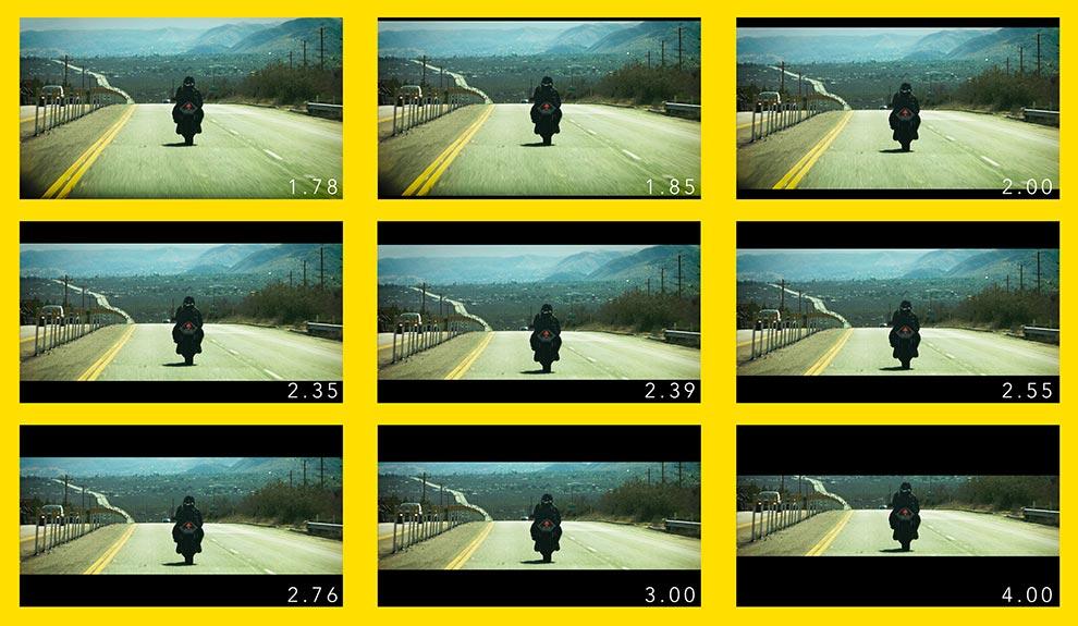 قالب تکسچر آلفای فرمت های ویدیویی بسیار عریض