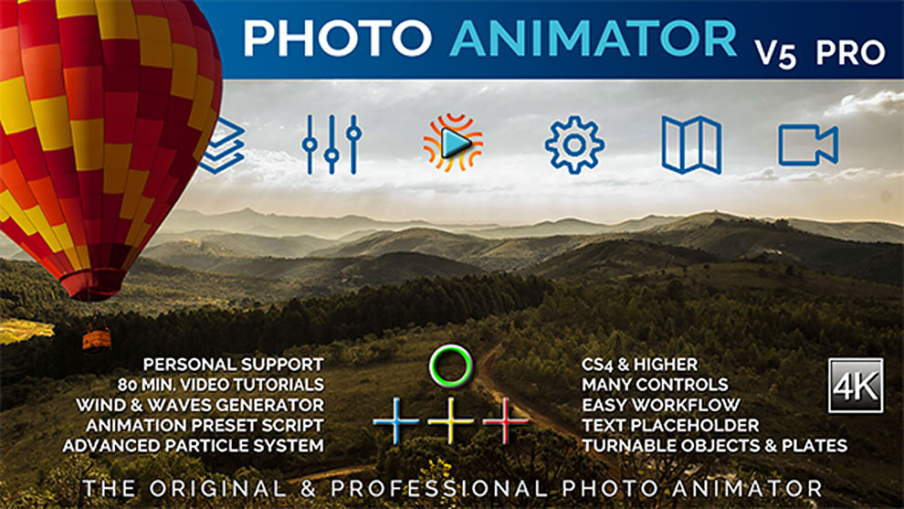 قالب افترافکت انیماتور عکس Photo Animator