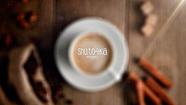 پروژه افترافکت نمایش لوگو در فنجان قهوه