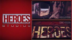 قالب افترافکت نمایش لوگو Heroes