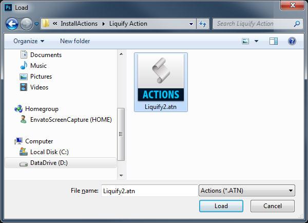 آموزش روش نصب اکشن ادوبی فتوشاپ