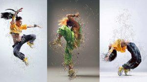 اکشن فتوشاپ ساخت افکت مایع Liquify2