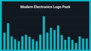 مجموعه موزیک پس زمینه الکترونیکی مدرن برای لوگو