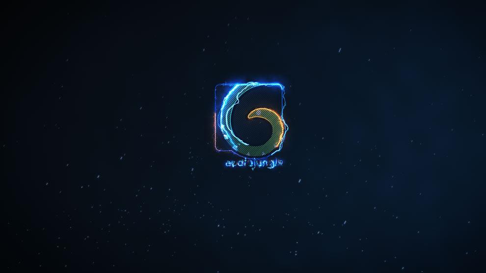 پروژه افترافکت نمایش لوگو با افکت الکتریکی Saber