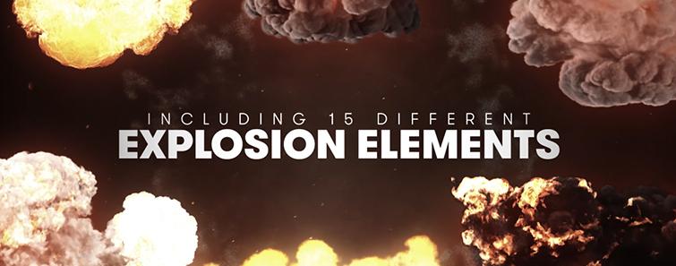 مجموعه فوتیج ویدیویی انفجار Detonate