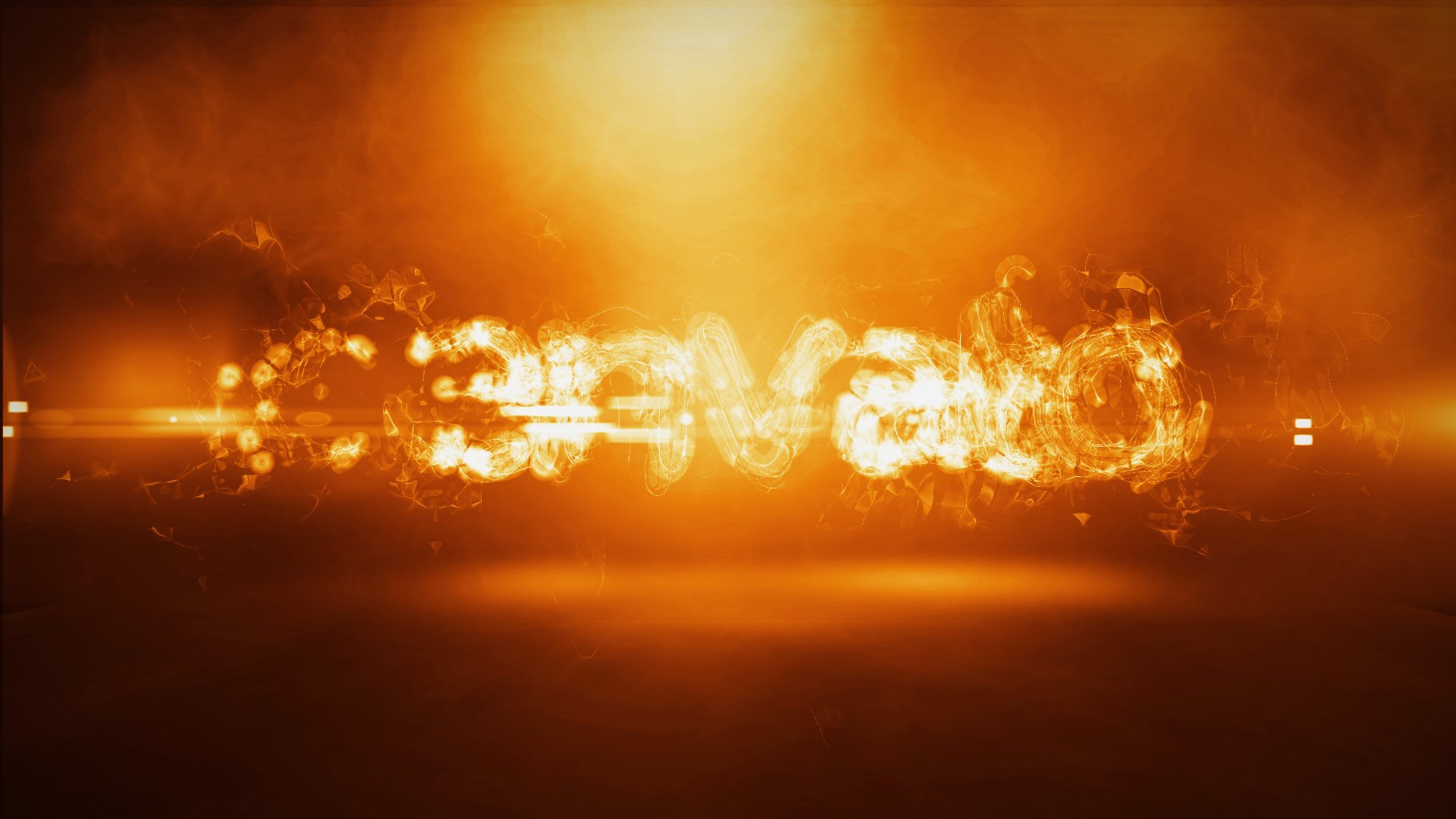 پروژه افترافکت نمایش لوگو Fire Logo Intro