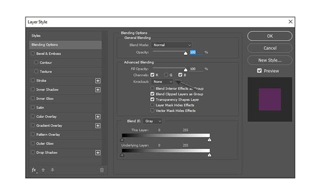 روش ساخت یک افکت تصویر قطعی دیجیتال در ادوبی فتوشاپ