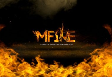 فوتیج ویدیویی آتش mFire