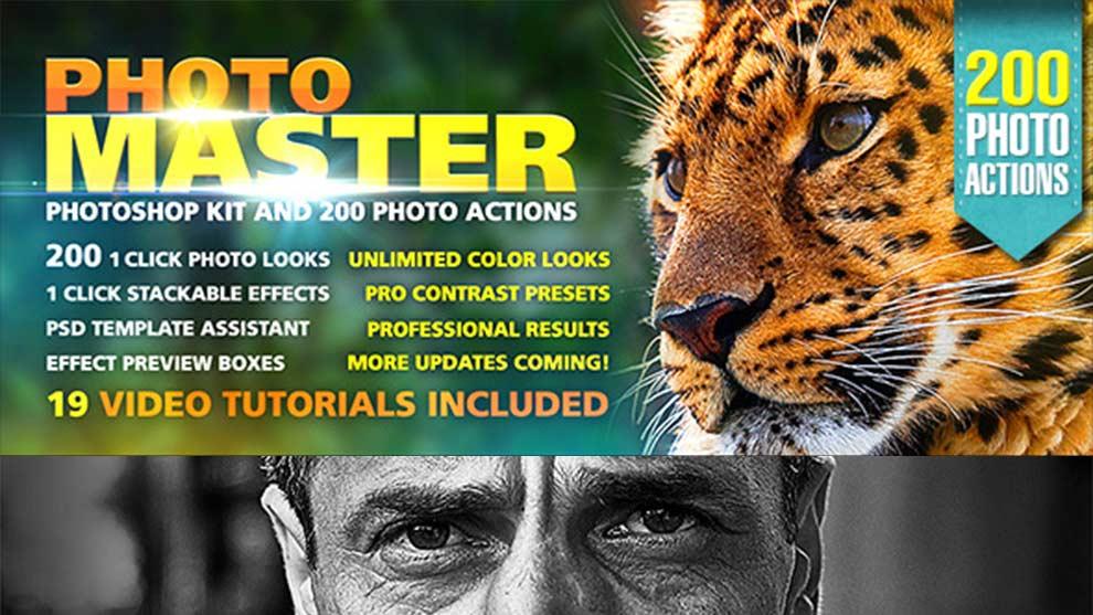 مجموعه اکشن فتوشاپ Photo Master