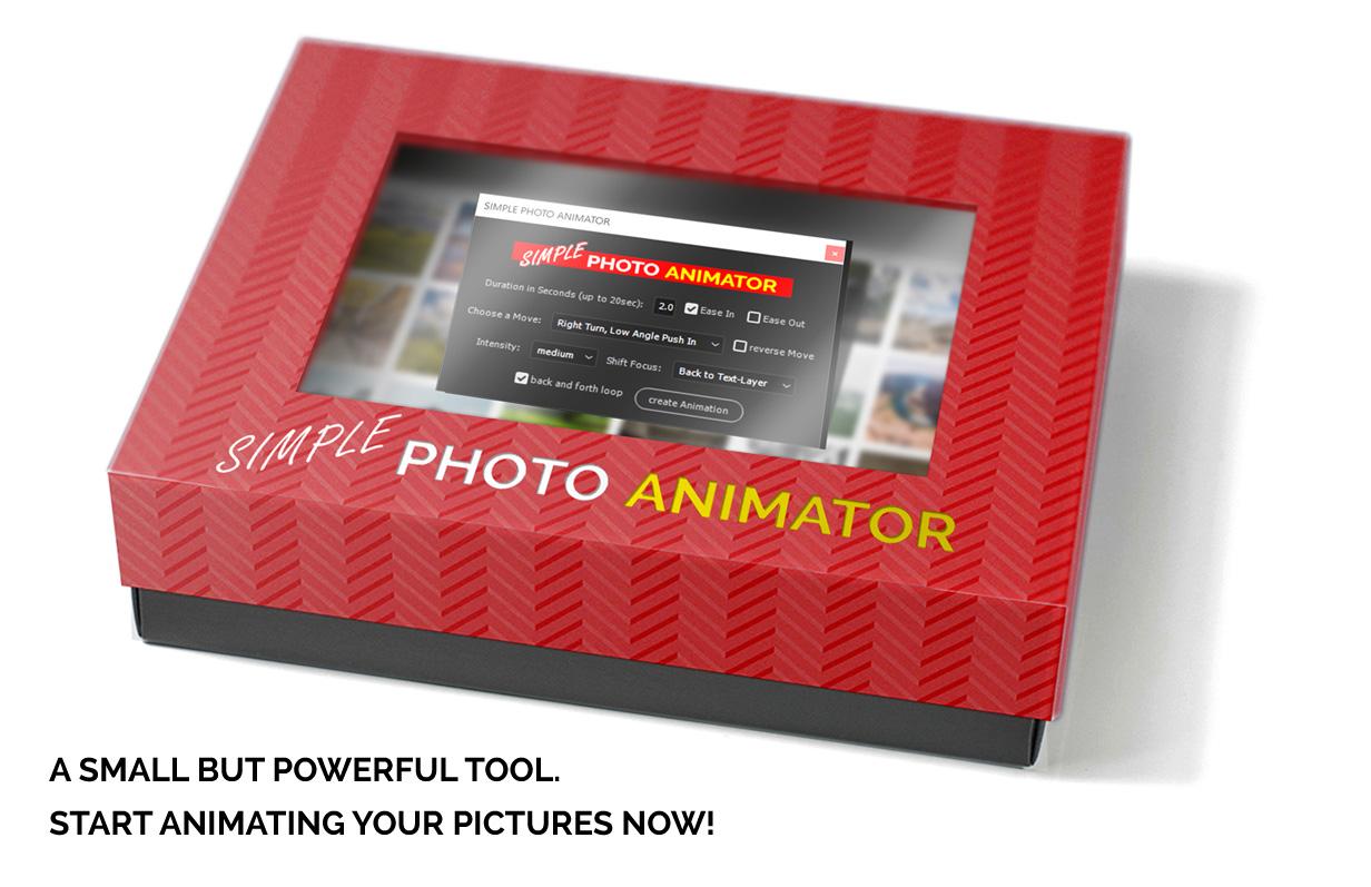 اسکریپت افترافکت متحرکسازی تصویر Simple Photo Animator
