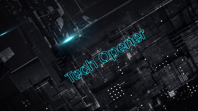 پروژه افترافکت افتتاحیه تکنولوژی Tech Opener