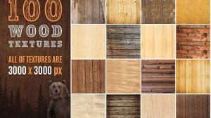 مجموعه 100 تصویر زمینه و تکسچر چوب واقعی