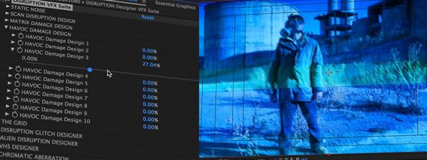 مجموعه جامع پریست های رنگ و ظاهر فیلم CINEPUNCH