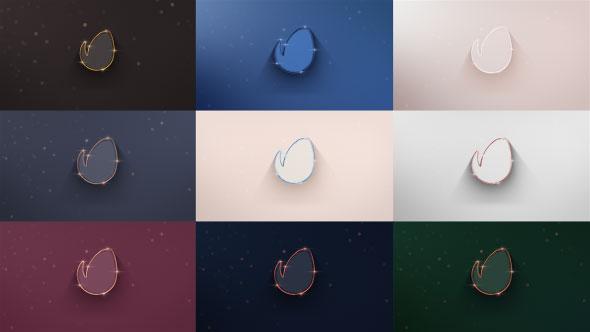 پروژه افترافکت نمایش لوگو Elegant 3D Reveals