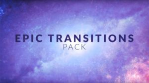 مجموعه پریست افترافکت ترانزیشن حماسی Epic Transitions