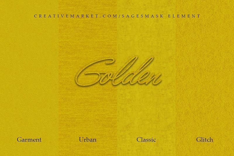 12 تکسچر و پترن فتوشاپ طلا