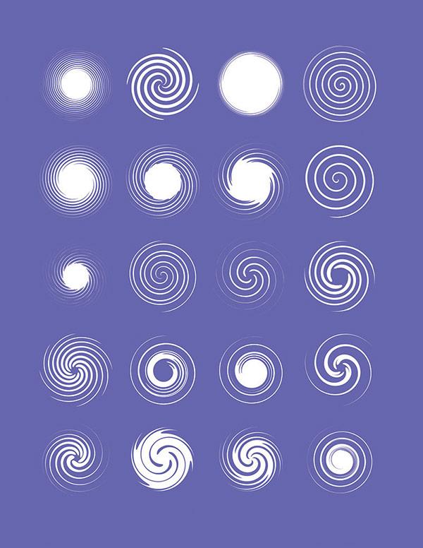 مجموعه 1160 شکل و المان گرافیکی
